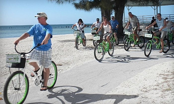 Cycling the sands of Florida
